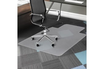 Bio-Design 1350 x 1140mm Office Mat Computer Work Chair Wood Carpet Floor Vinyl Protector