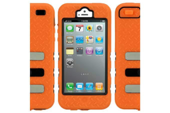 Gecko Tradie Case for iPhone 5/5S/SE Tough Hi-Vis Dust/Splash Proof Orange