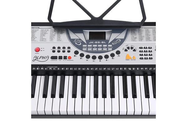 61 Key LED Electronic Piano