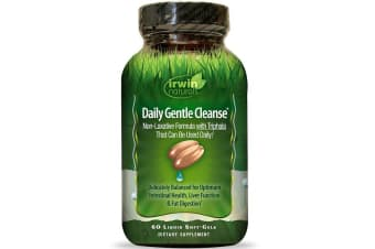 Irwin Naturals Daily Gentle Cleanse - 60 Liquid Soft-Gels