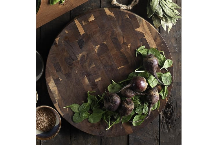 Ecology Galley Round Butchers Block 40cm