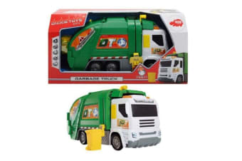 Dickie Toys Lights and Sounds Garbage Truck