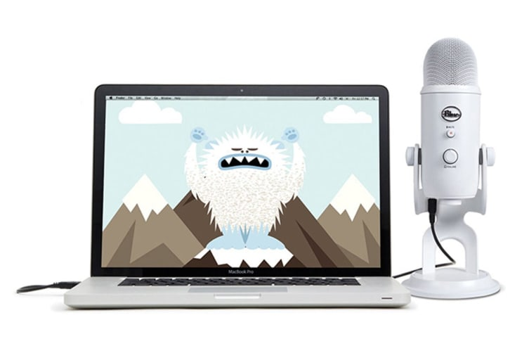 dick smith nz blue yeti 3 capsule usb microphone white 90021670 microphones. Black Bedroom Furniture Sets. Home Design Ideas