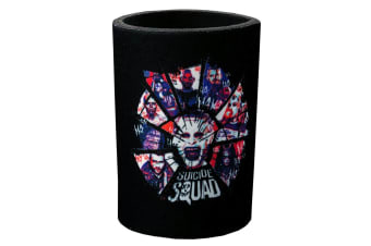 Suicide Squad Shattered Group Shot Can Cooler