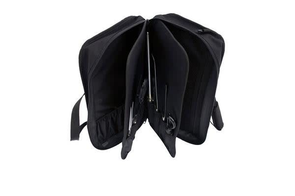 Messermeister 16 Pocket Culinary Satchel Black