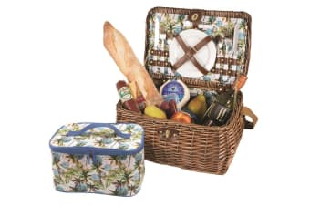 Avanti Picnic Basket 2 Person Palm Tree