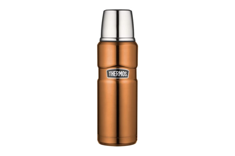 Thermos Stainless King 470ml Vacuum Insulated Flask (Copper)