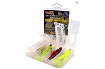 Rigrap Lure Locker Fishing Lure Box - Tangle Free Ready Rigged Lure Storage