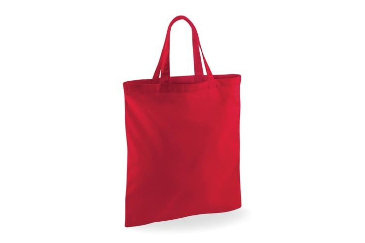 Westford Mill Short Handle Bag For Life (Classic Red) (One Size)
