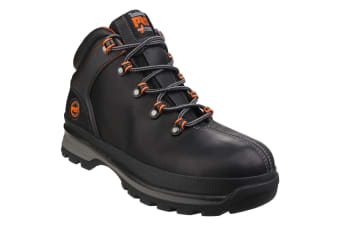 Timberland Pro Mens Splitrock XT Lace Up Premium Leather Boots (Black)