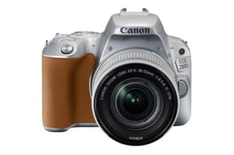 New Canon EOS 200D 24.2MP Kit (18-55mm) Digital Camera Silver (FREE DELIVERY + 1 YEAR AU WARRANTY)