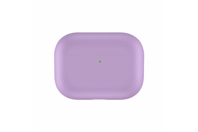 For Apple AirPods Pro Case Cover Soft Silicone Skin Ultra Slim AirPod 3 Case-Black-PinkPurple