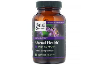 Adrenal Health Daily Support - 120 Vegan Liquid Phyto-Caps