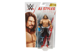 WWE 6-inch Core Figure Top Picks AJ Styles