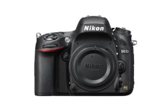 New Nikon D610 DSLR 24MP Digital Camera Body (FREE DELIVERY + 1 YEAR AU WARRANTY)