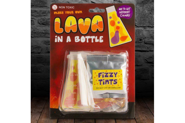 Lava In A Bottle   science experiment d.i.y educational toy volcano gag magma ashes