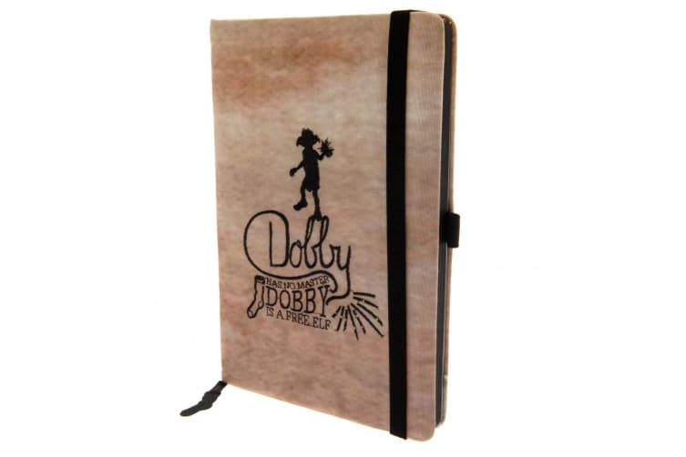 Harry Potter Official Dobby Premium Notebook (Brown/Black) (One Size)