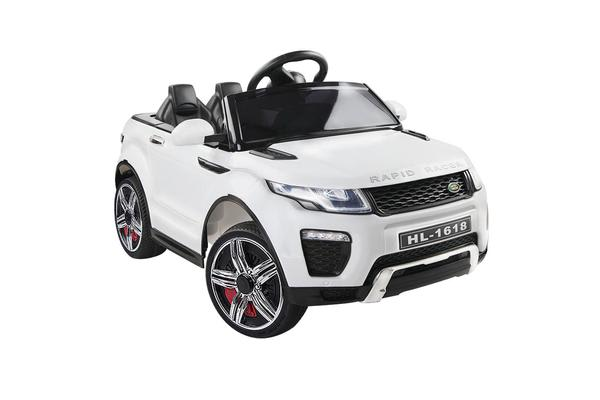 Kids Ride on Car SUV (White)