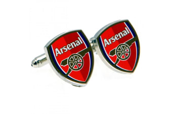 Arsenal FC Cufflinks (Red) (One Size)
