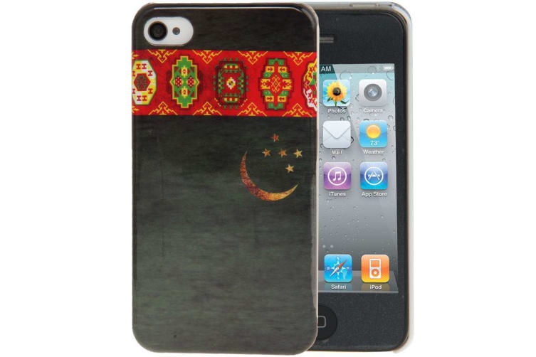 For iPhone 4S 4 Back Case  Holy Print Pattern Durable Shielding Cover