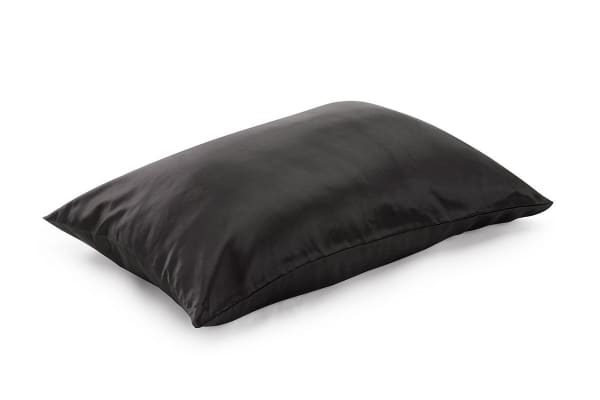 Ovela Luxury Charmeuse Silk Pillowcase (Charcoal)
