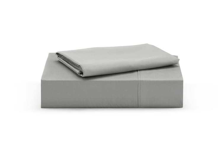 Ovela 100% Organic Cotton Sheet Set (Double, Steel Grey)