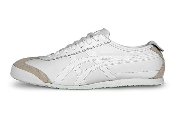 Onitsuka Tiger Men's Mexico 66 Running Shoe (White/White, Size 12.5)