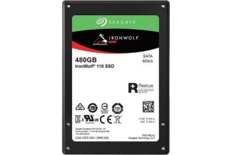 SEAGATE IRONWOLF 110 SSD 480GB 2.5 ' SATA 5 Years Warranty
