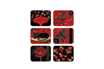 Cinnamon Orientals Coasters Set of 6