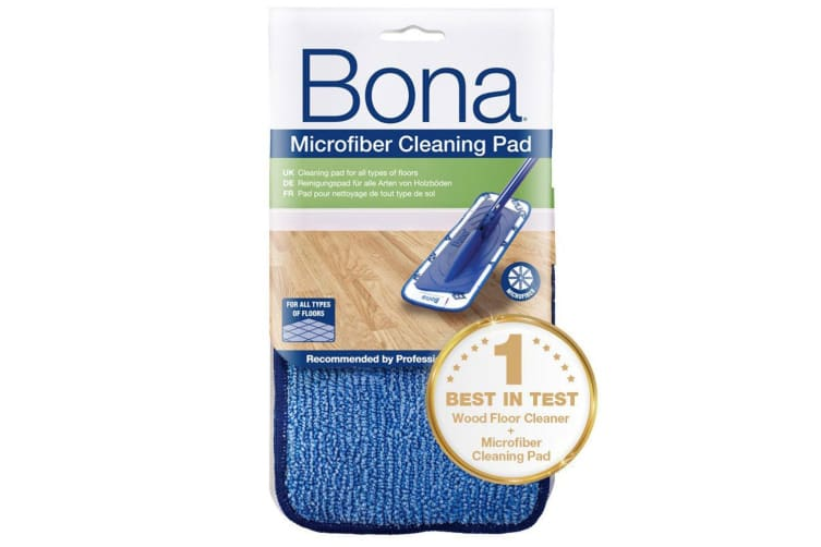 Bona Wood Floor Cleaner 2.5L Bottle/850ml Refill Cartridge/Cleaning Pad for Mop