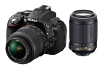 Nikon D5300 DSLR Camera 18-55mm & 55-200mm Twin VR Lens Kit (Black)