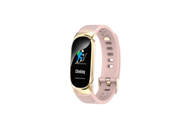 Smart Sports Bracelet Color Screen Continuous Heart Rate Sleep Monitoring Pink
