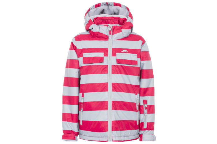 Trespass Childrens/Kids Motley Waterproof Ski Jacket (Raspberry) (5/6)