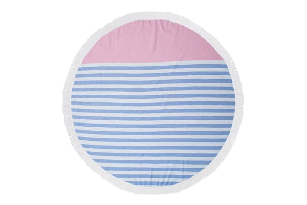 Bambury Round Turkish Towel - Sunset
