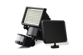 Set of 2 100 LED Solar Sensor Light Outdoor Security Floodlights Garden Motion