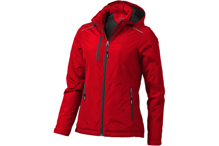 Elevate Womens/Ladies Smithers Fleece Lined Jacket (Red) (S)