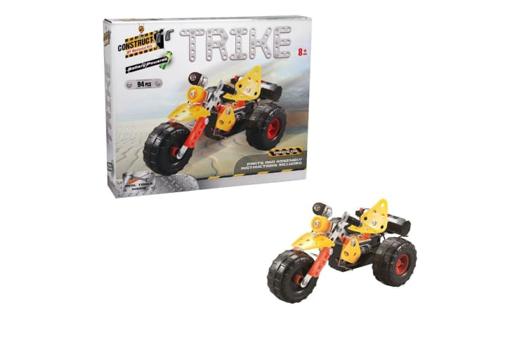 Construct-It! Battery Powered Trike 94 Piece Kit