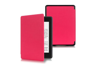 """Amazon All-New Kindle 10th Generation 2019 6"""" Flip Smart Leather Case Cover AU-RoseRed"""