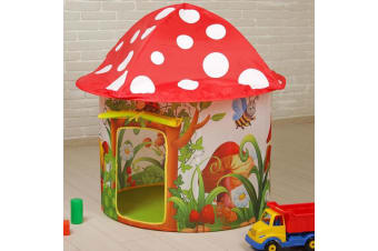 Whimsical Toadstool Play Tent for Kids