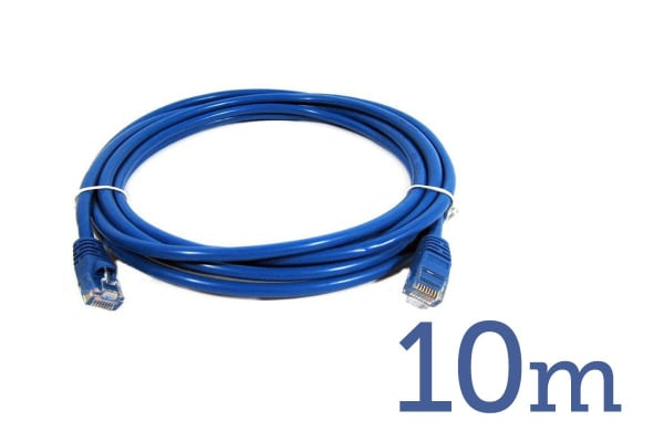Cat 6 RJ45 to RJ45 Network Cable (10m)