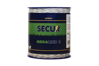 Agrifence Megaline 2 Superior Polywire (H4744) (May Vary) (200m)