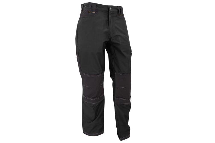 Regatta Mens Holster Workwear Trousers (Short  Regular And Long) (Black) (34 Short)
