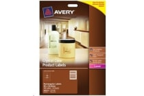 AVERY Shipping Label L7168 - Crystal Clear 2UP - 199.6x143.5mm - 25 Pack