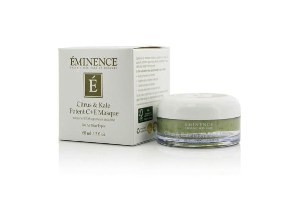 Eminence Citrus & Kale Potent C+E Masque - For All Skin Types (60ml/2oz)