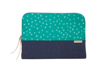 "STM Grace notebook case 33 cm (13"") Sleeve case Green,Navy"