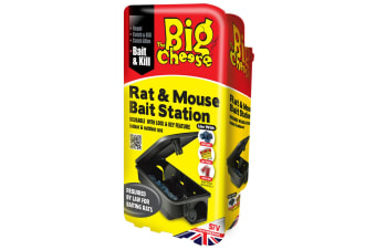 STV International The Big Cheese Rat And Mouse Bait Station (Assorted Colours) - ASRTD (Assorted) (One Size)