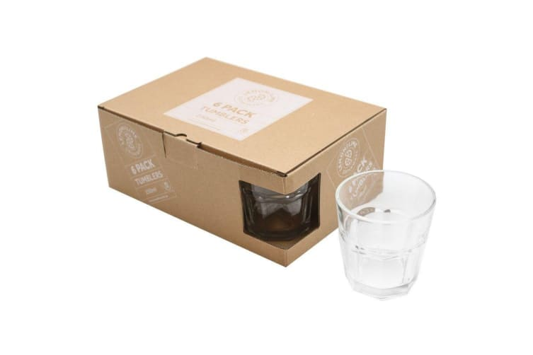 12pcs 250ml Coffee Cafe Caffe Latte Glasses Cup