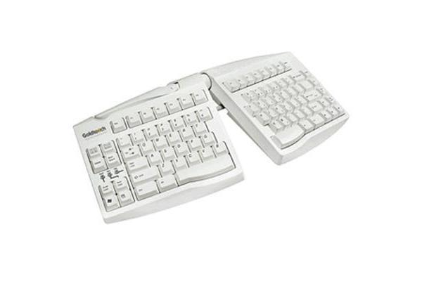 KeyOvation Goldtouch Ergonomic Keyboard - Beige