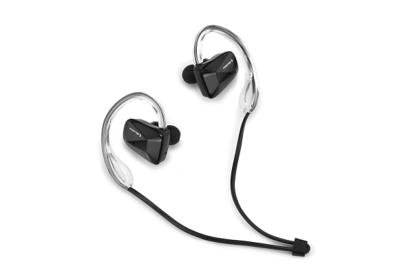 Fortis Water Resistant Bluetooth Earphones (Black)