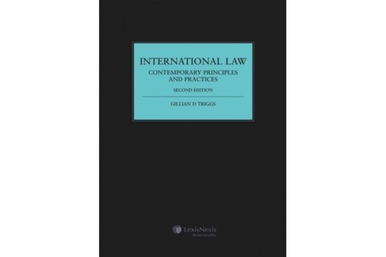 International Law - Contemporary Principles and Practices
